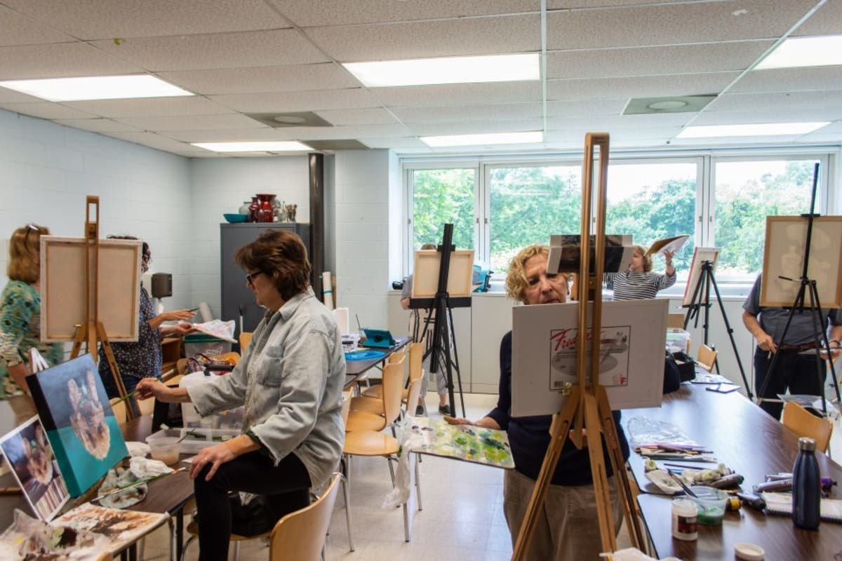 Studio Art Introduction To Oil Painting With Laurie Harden Morristown Nj Patch
