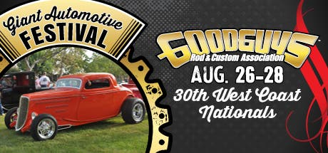 Aug 26 | Goodguys 30th West Coast Nationals - Pleasanton