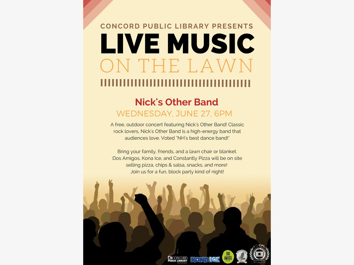Dec 31   Live Music on the Lawn - Nick's Other Band