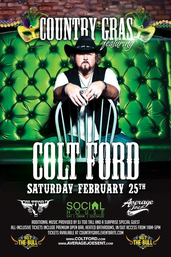 Terrific Dec 31 Colt Ford At Mardi Gras In St Louis Algonquin Download Free Architecture Designs Rallybritishbridgeorg