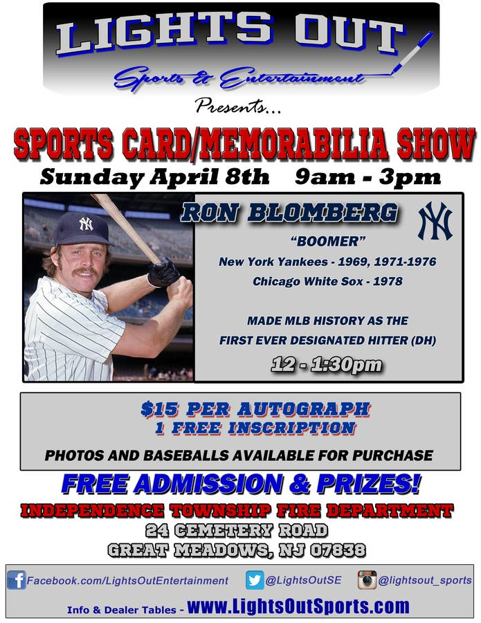 Apr 8 Sports Card Memorabilia Show Hackettstown Nj Patch