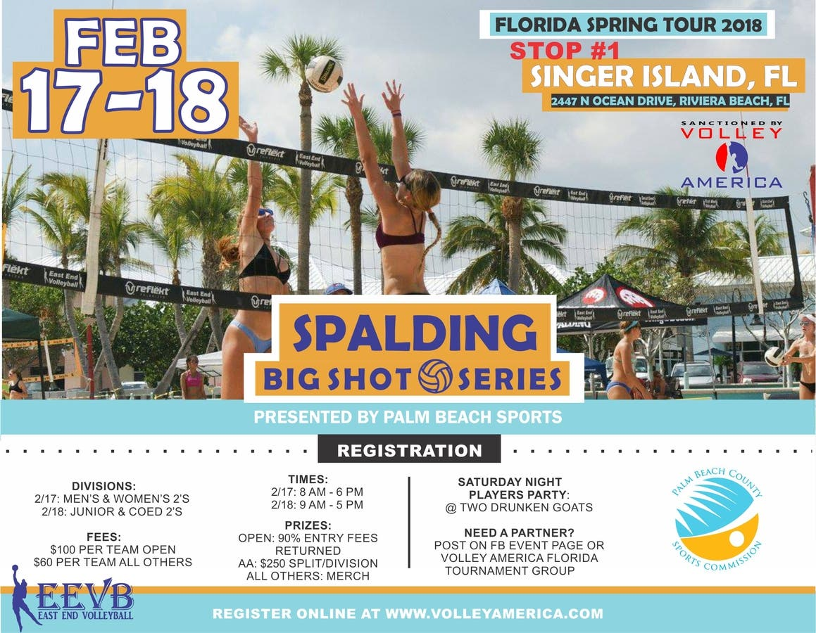 Dec 31 | Spalding Big Shot Volleyball Series ~ Singer Island