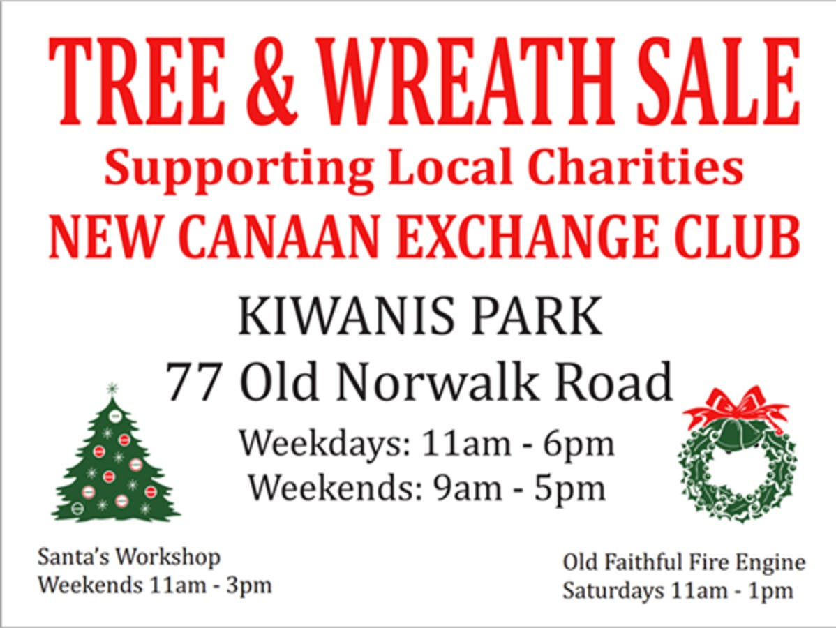 Christmas Charities.Dec 8 Christmas Tree And Wreath Sales For Charity New