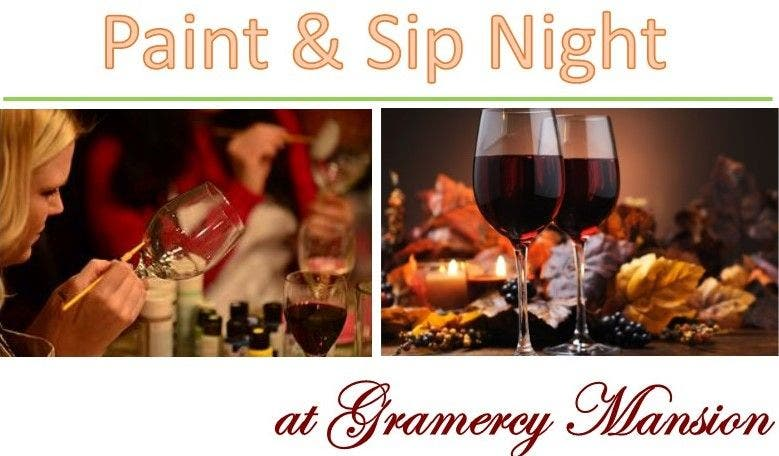 Paint And Sip Night Decorative Wine Glasses Baltimore