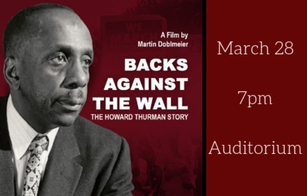 Movie Screening: Backs Against the Wall