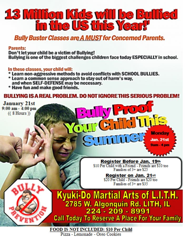 PDF Bully Buster: Simple Self Defense For Your Child