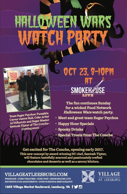 Join Us For Our Spooky Halloween Wars Watch Party At Village