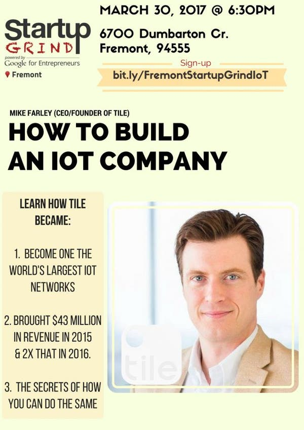 Startupgrind Fremont How To Build An
