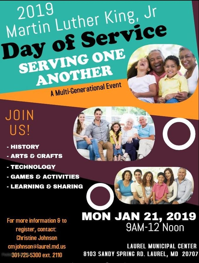 Jan 21 | Martin Luther King Jr. Day of Service Event ...