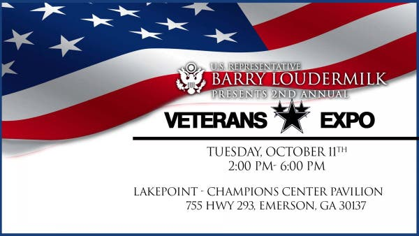 Dec 31   2nd Annual Veterans Expo for the 11th Congressional