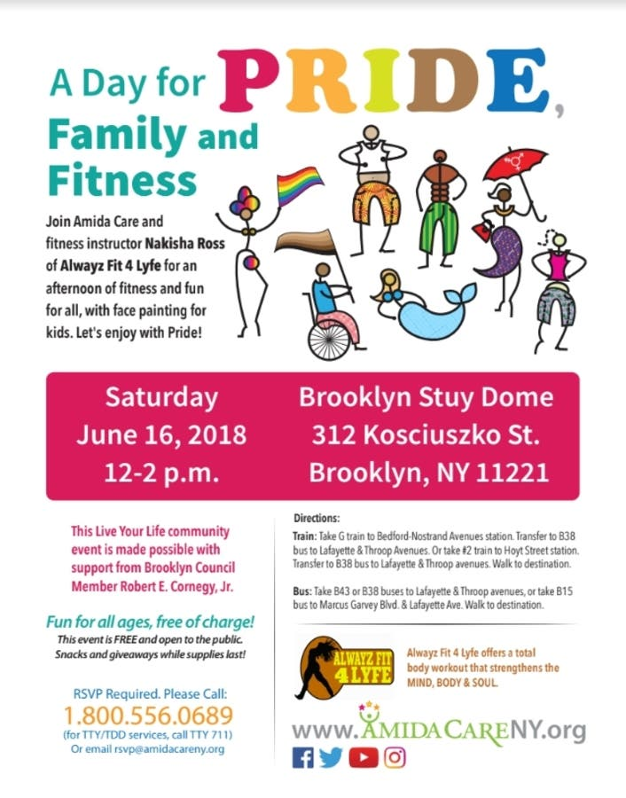 Jun 16 | Celebrate Pride with Free Family & Fitness Event by Amida