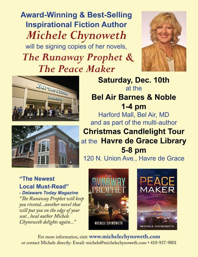 Dec 13 | Barnes & Noble Book Signing | Towson, MD Patch