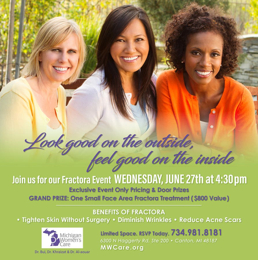 Jun 27 | Anti-Aging Event - Introducing Fractora