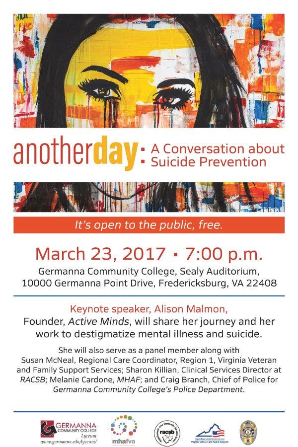 Dec 31 | Another Day: A Conversation About Suicide