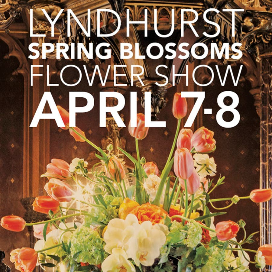 Apr 8 Lyndhurst Spring Blossoms Flower Show Tarrytown