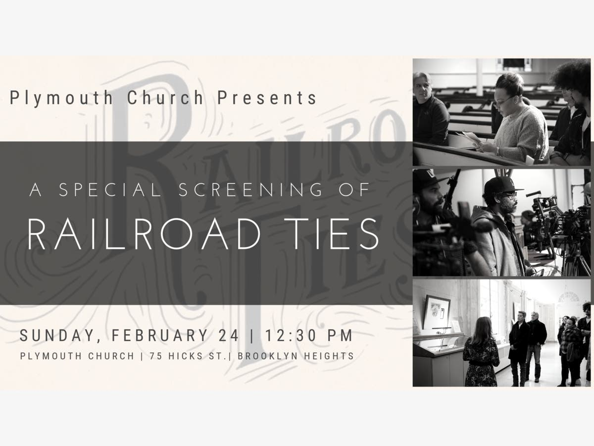 Feb 24   Plymouth Church Presents: A Special Screening of