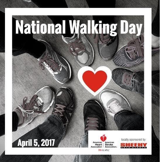 National Walking Day 2017 Event At Springfield