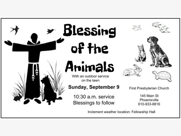 Sep 16 | Blessing of the Animals | Phoenixville, PA Patch