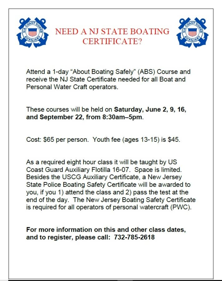 Sep 22 | About Boating Safety Class - NEW DATE! | Point