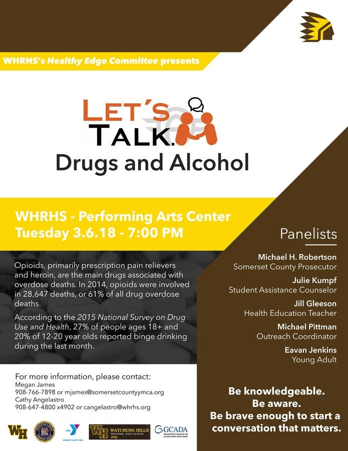 How To Start The Conversation About Drug Use >> Dec 31 Let S Talk Drugs And Alcohol Warren Nj Patch