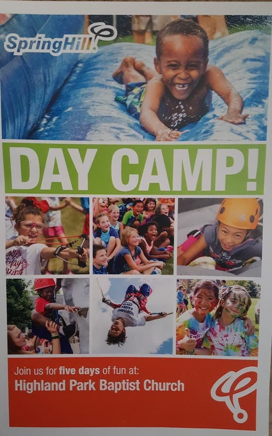 Dec 31   SpringHill Day Camp - June 19-23, 9am-4pm at