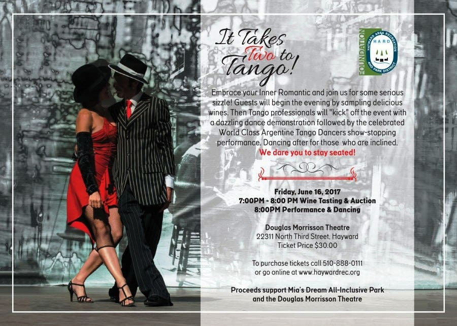 Dec 31 | It Takes Two To Tango | Castro Valley, CA Patch