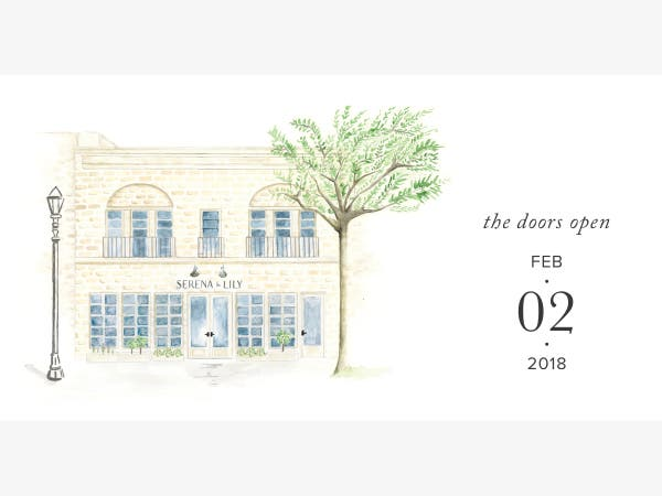 Feb 2 Serena Lily Summit Design Shop Grand Opening Weekend