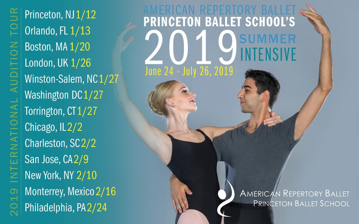 Jan 12 | American Repertory Ballet Summer Intensive Audition