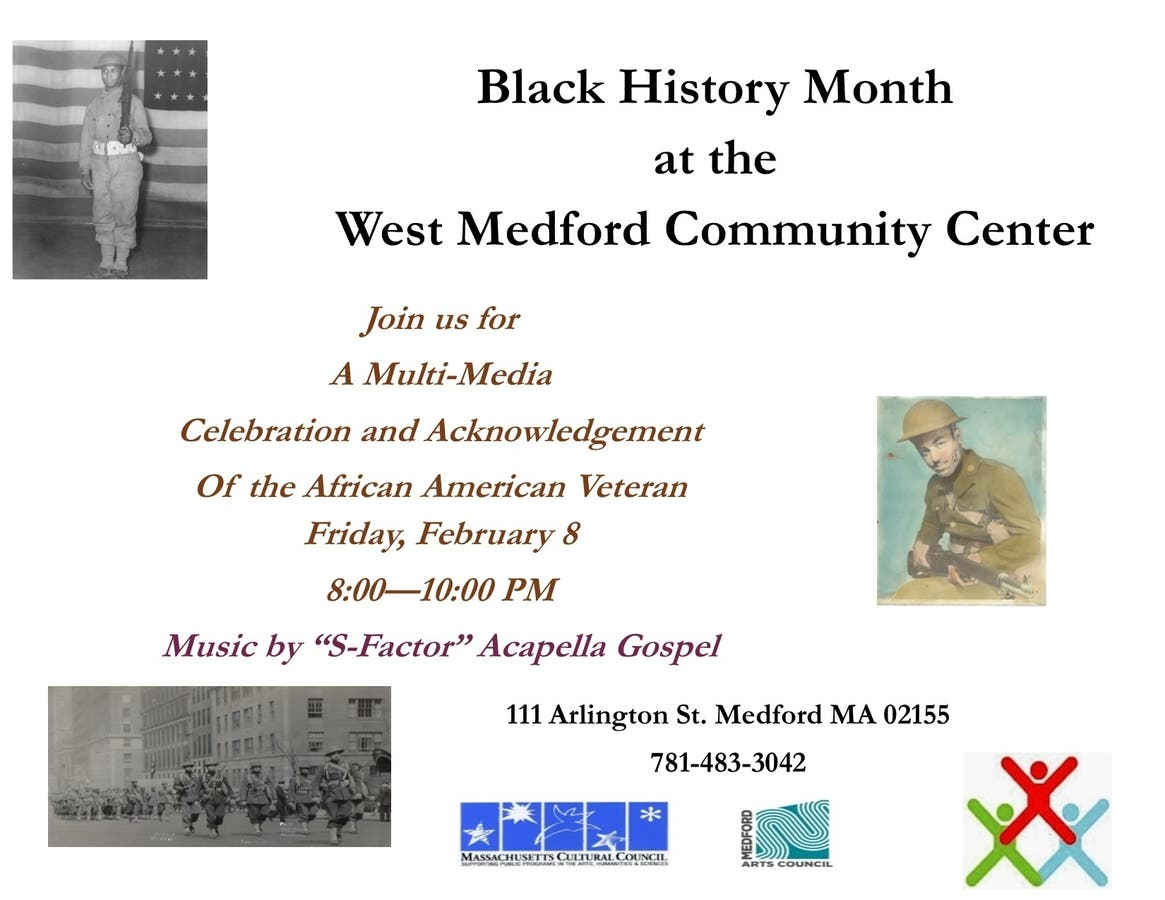 Feb 8 | Black History Month Kickoff: African American Vet Project