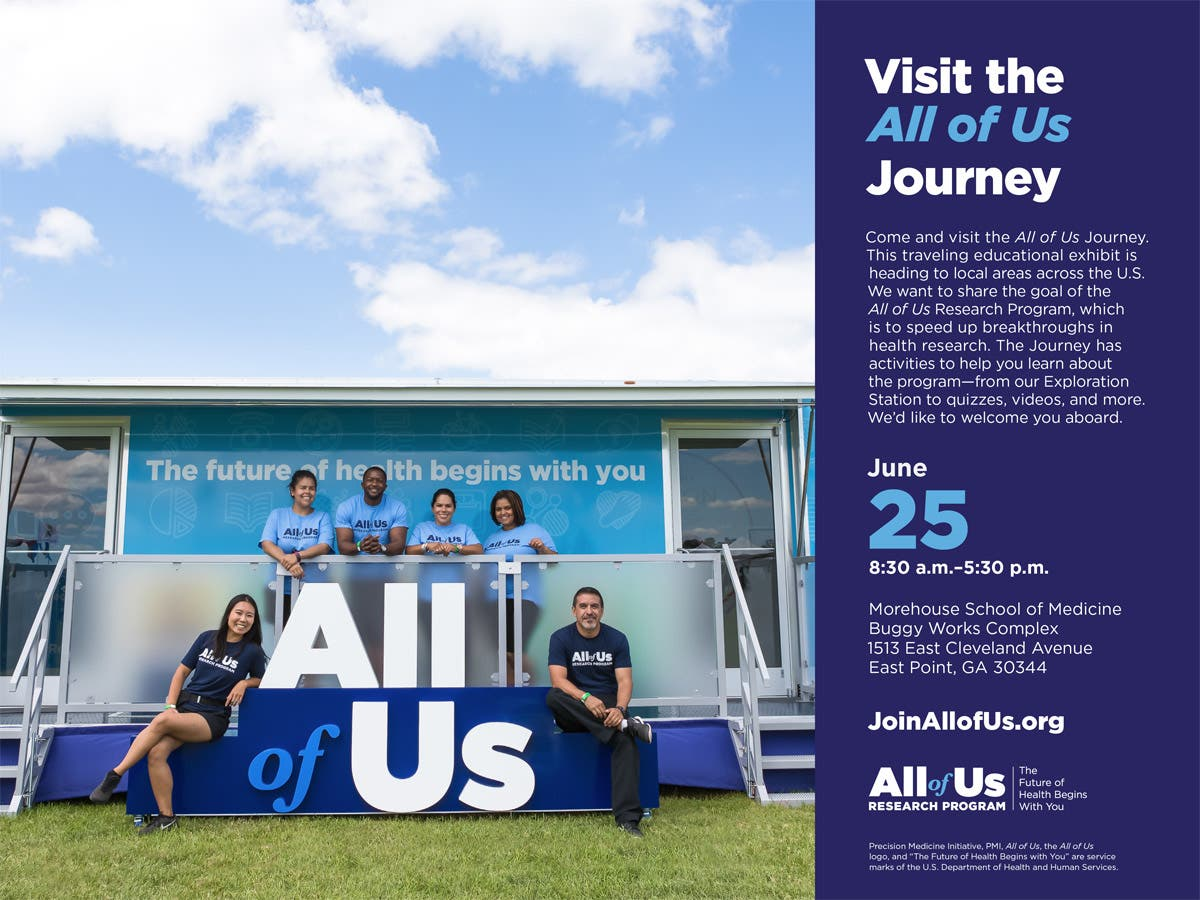 Jun 25 | NIH's All of Us Journey Comes to Morehouse School