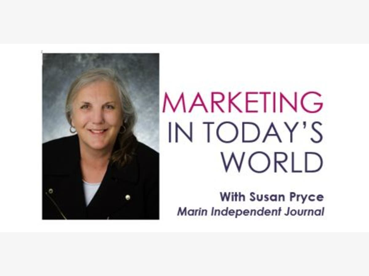 Oct 3 | Susan Pryce, Marin IJ, Marketing in Today's World