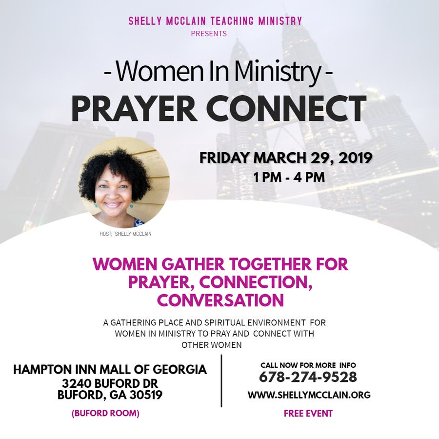 Mar 29 | Prayer Connect - Women In Ministry | Buford, GA Patch
