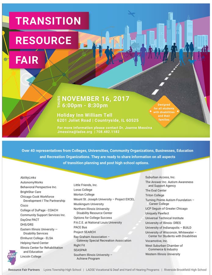 2017 Transition Resource Fair Aurora Il Patch