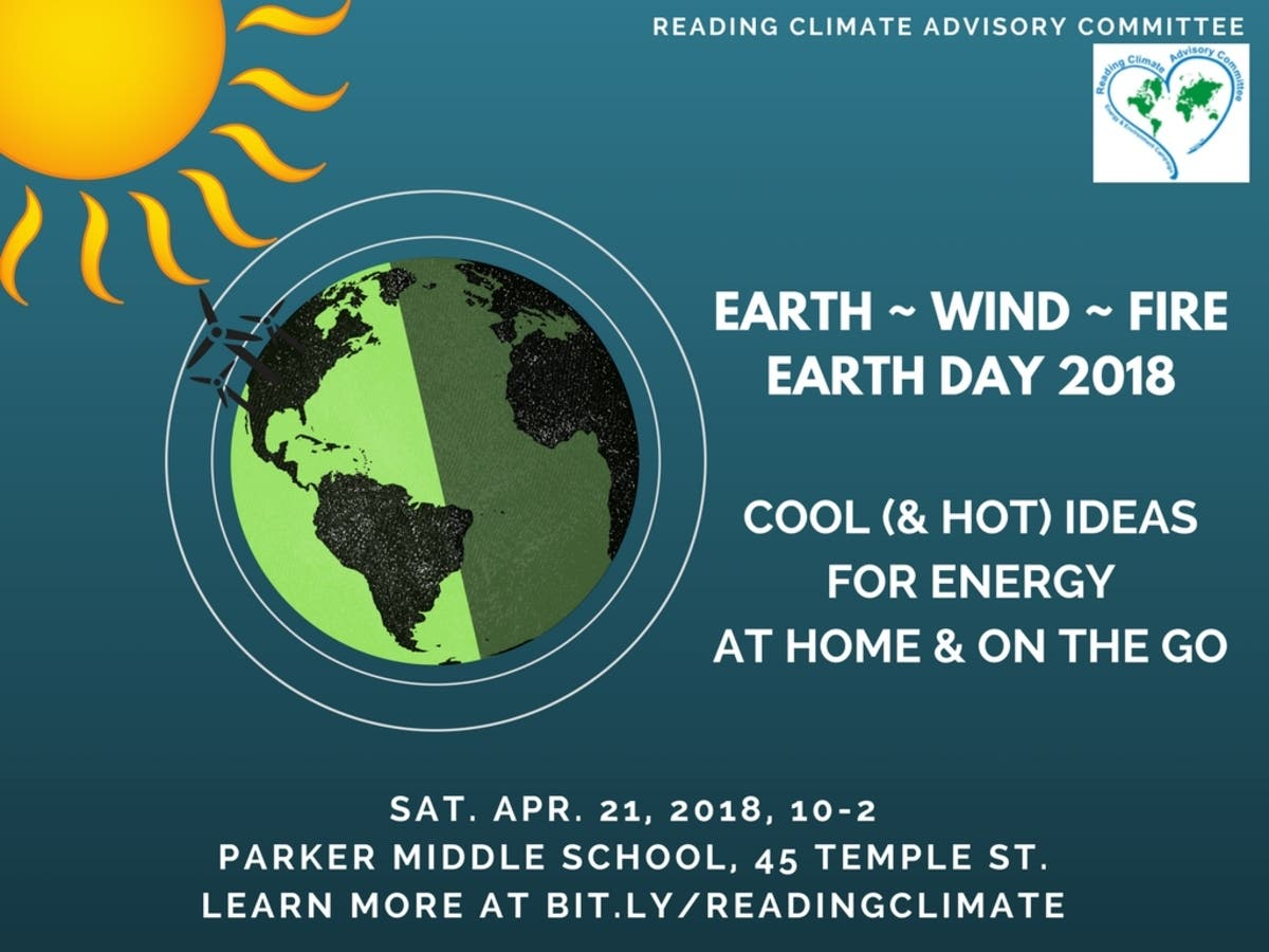 Apr 21 | Earth Day Fair 2018 | Reading, MA Patch