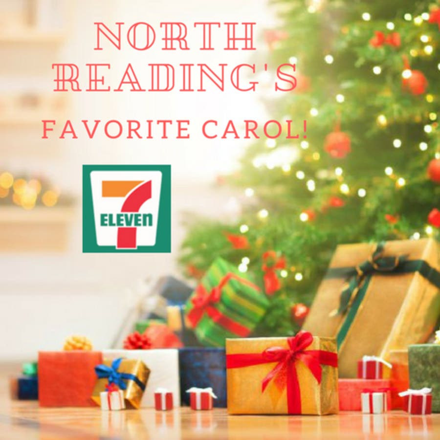 Christmas Readings.Dec 31 Local 7 Eleven Sponsors North Readings Favorite