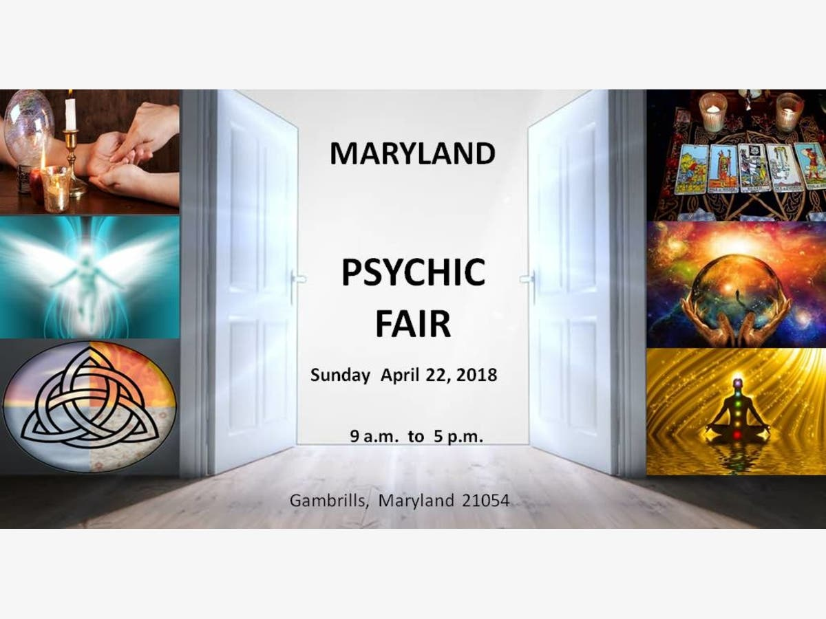 Apr 22 | Maryland Psychic Fair | Annapolis, MD Patch