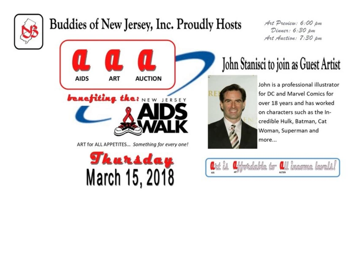 Mar 15 | AIDS Art Auction | Fair Lawn-Saddle Brook, NJ Patch