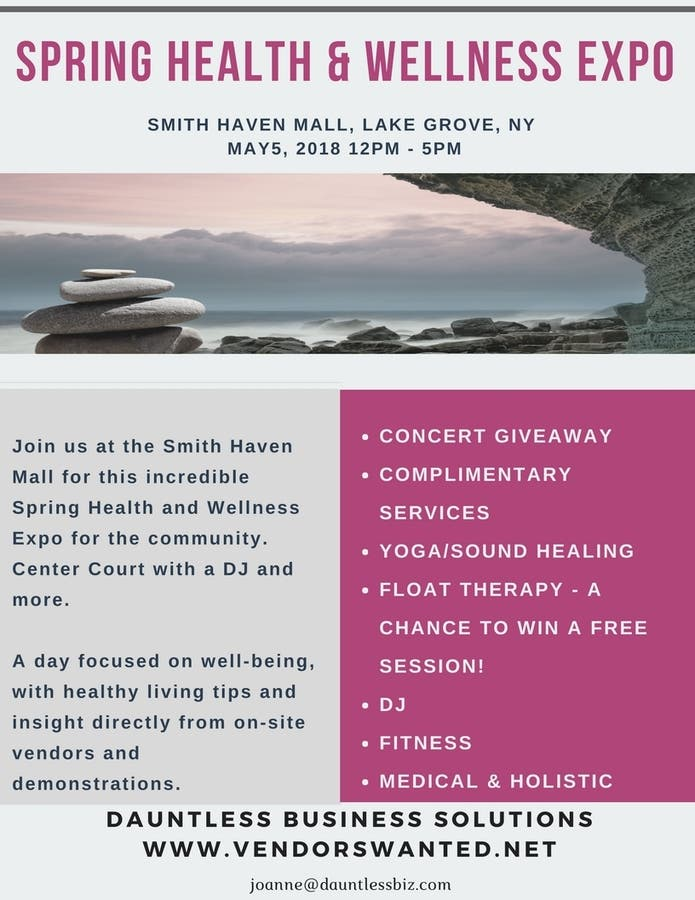 Dec 31 | Spring Health & Wellness Expo | Smithtown, NY Patch