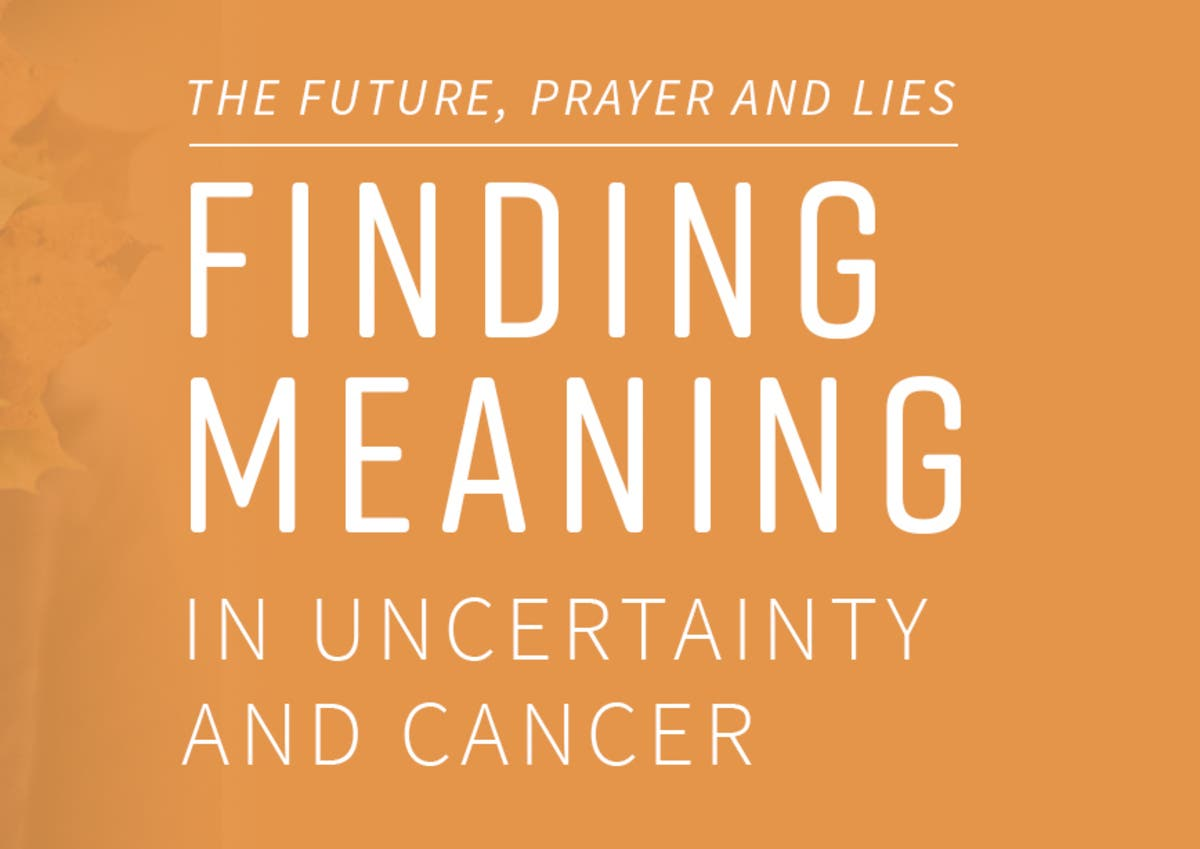 Nov 1 | Finding Meaning in Uncertainty and Cancer | Western Springs
