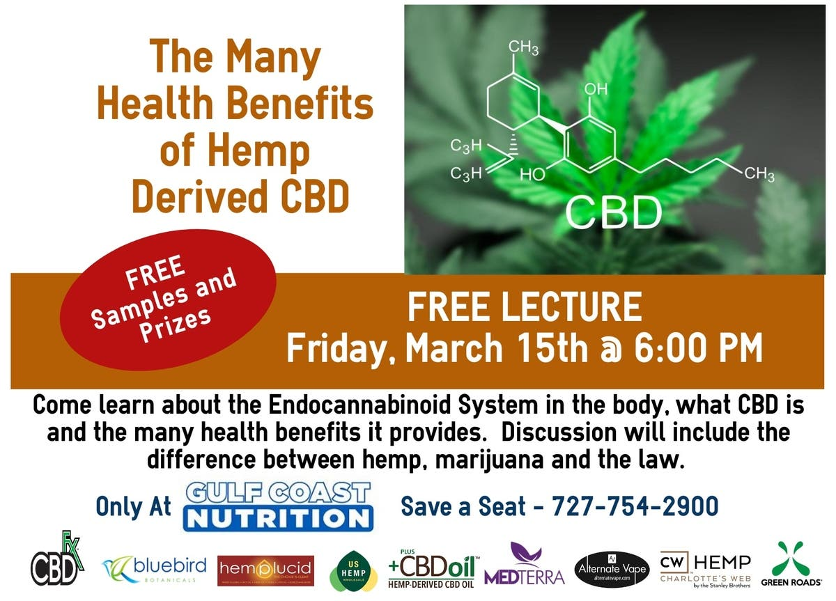 Mar 15 | CBD: The Health Benefits of Hemp CBD Oil | Palm