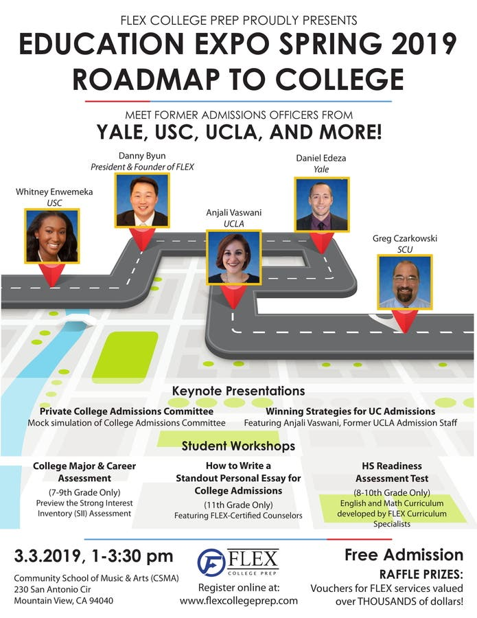 Mar 3   Education Expo: Roadmap to College   Mountain View, CA Patch
