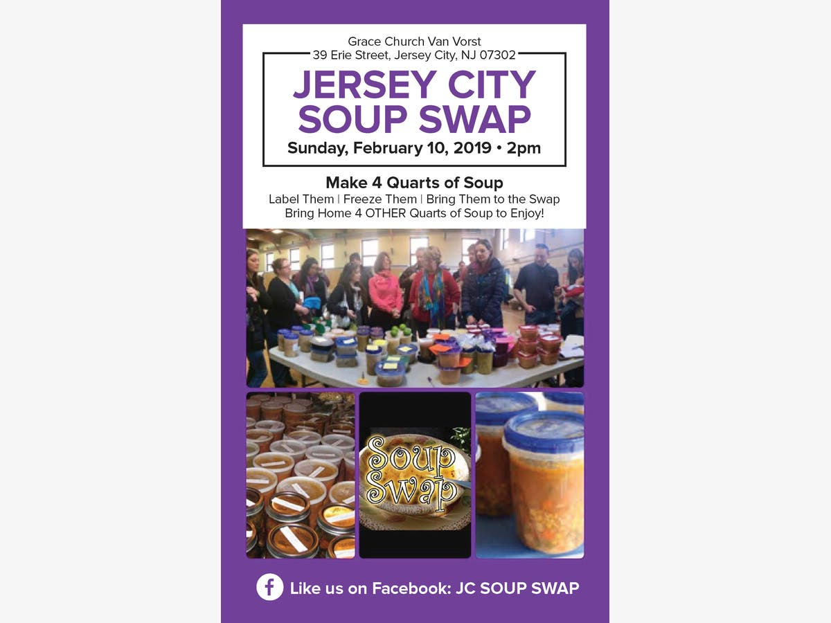 Fabulous Feb 10 Jersey City Soup Swap Jersey City Nj Patch Download Free Architecture Designs Licukmadebymaigaardcom