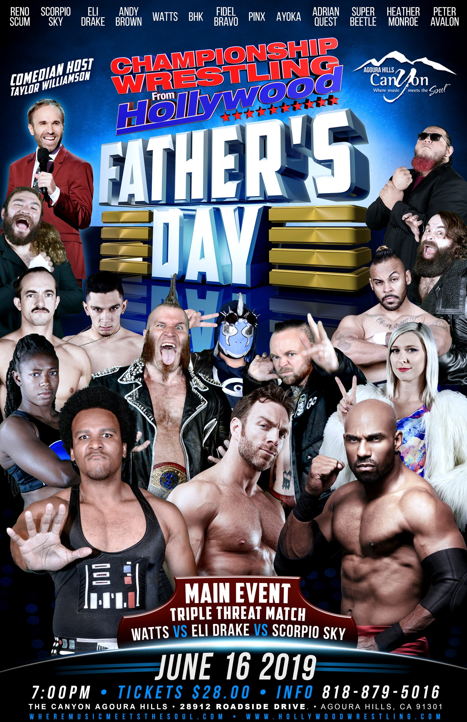 Jun 16 | Championship Wrestling from Hollywood Special ...