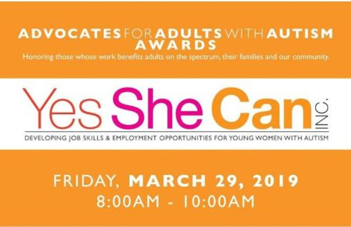 Young Women On Spectrum >> Mar 29 Yes She Can Honors Advocates For Adults With Autism In