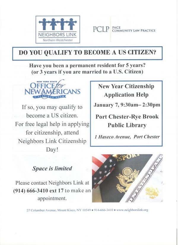Amazon Com Applicationhelp >> Jan 7 New Year Citizenship Application Help Rye Ny Patch