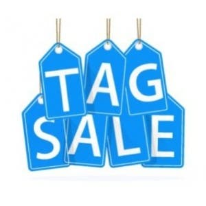 May 18   Annual Tag Sale and Spring Bazaar - First Church