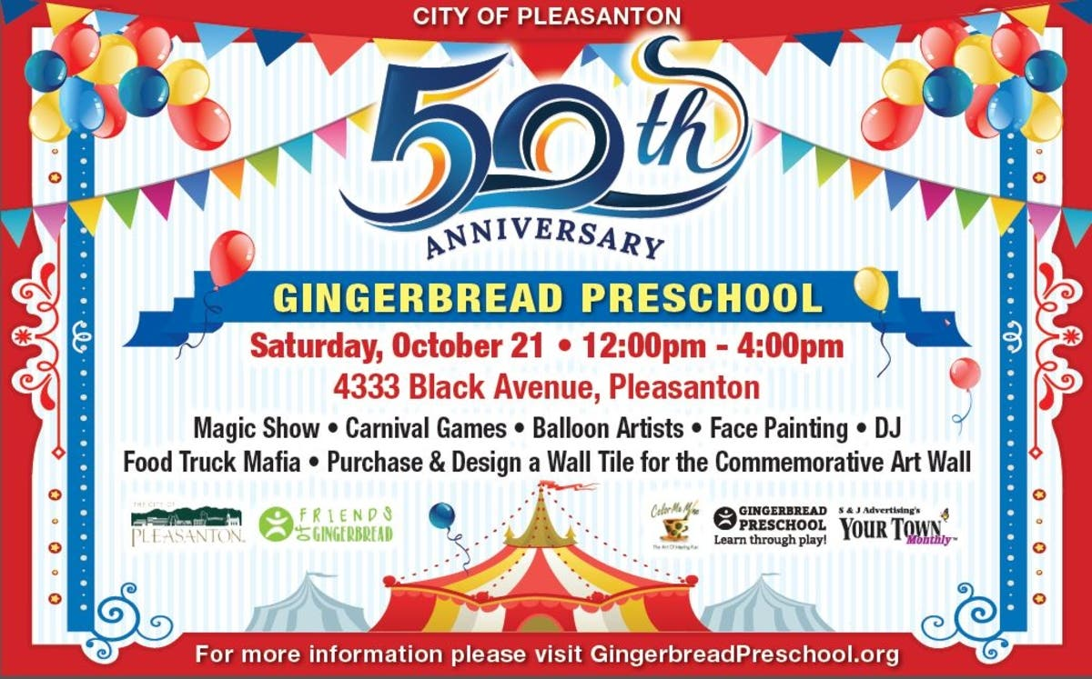 Dec 31 | Gingerbread Preschool 50th Anniversary Carnival