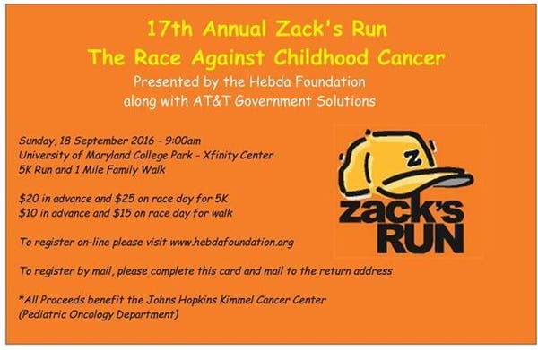 Dec 31 | Zack's Run - The Race Against Childhood Cancer