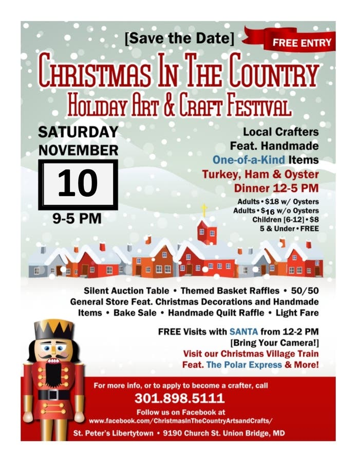 Nov 10 | Christmas in the Country - Holiday Art & Craft