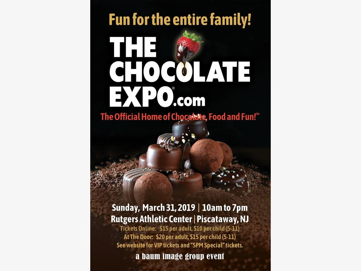 Mar 31 | The Chocolate Expo Comes to Rutgers Athletic Center March